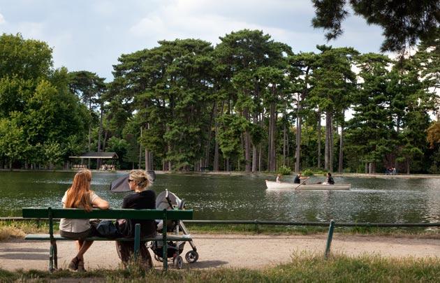 Passeggia nel Bois de Boulogne
