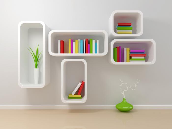 полице за књиге и полице