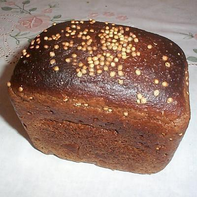Przepis na chleb Borodino