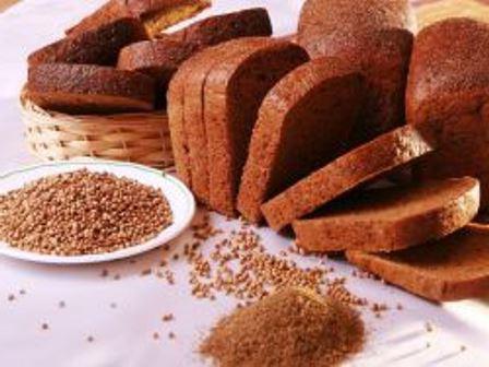Chleb Borodino w chlebie