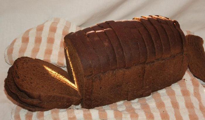składniki chleba z Borodino