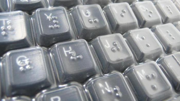 tastiere con tasti in rilievo