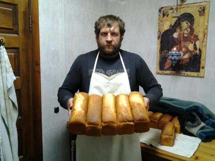 хляб от манастира на светата матрона
