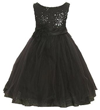 vestito nero lucido
