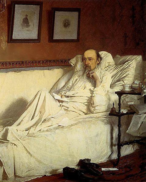 Nikolai Alekseevich Nekrasov breve biografia