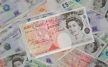 Динамика на британската лира