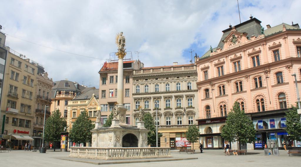 Площад на свободата в Бърно