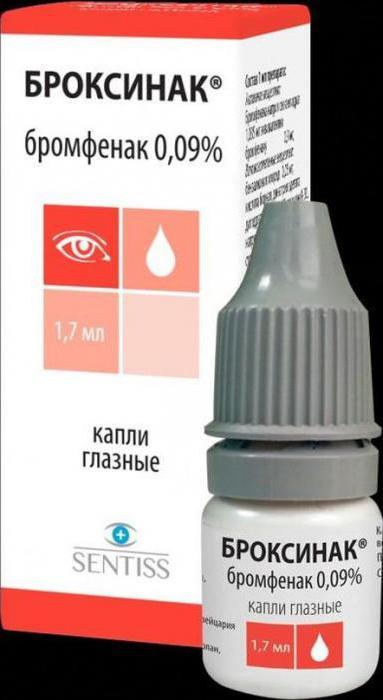 Broxinac eye drops istruzioni per l'uso