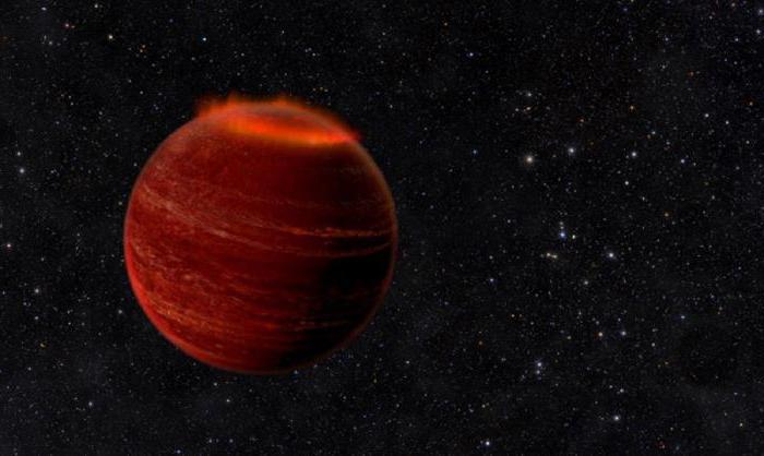 смеђи патуљак у соларном систему