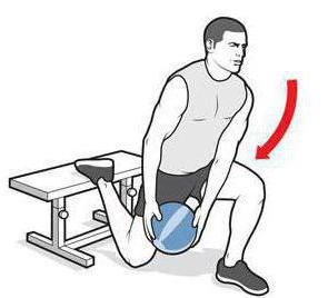 squat su una gamba