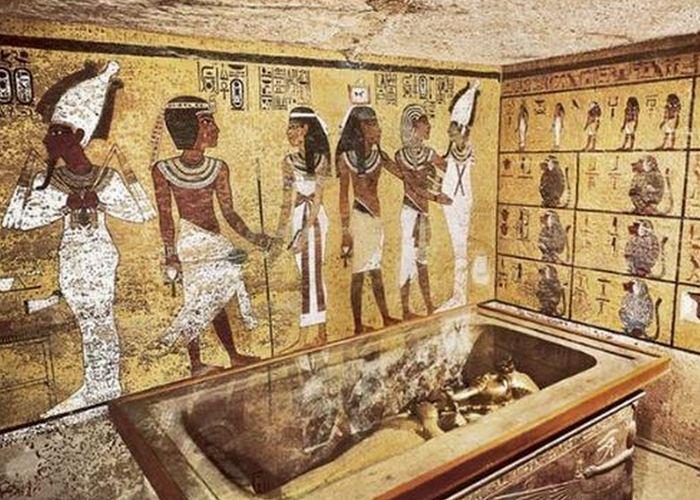 tomba mummia