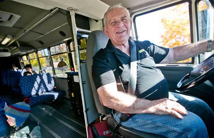 plán řidičů autobusu
