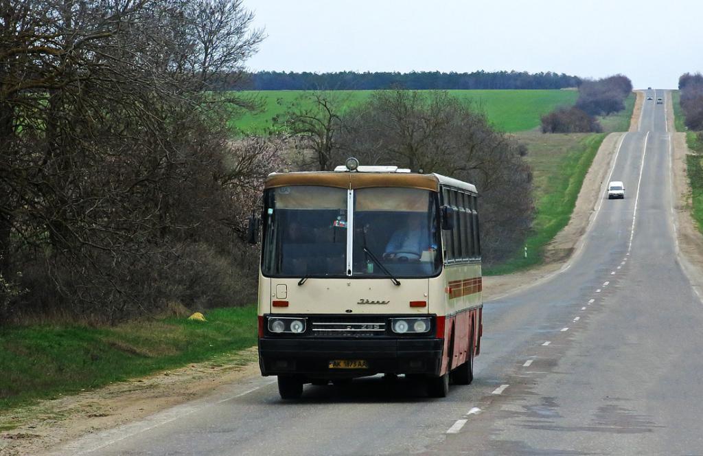 Салон Ikarus 256