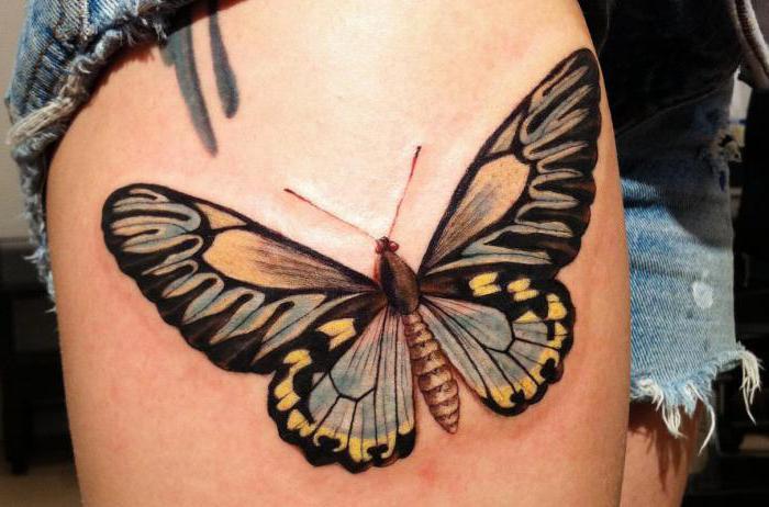 cosa significa tatuaggio farfalla per una ragazza