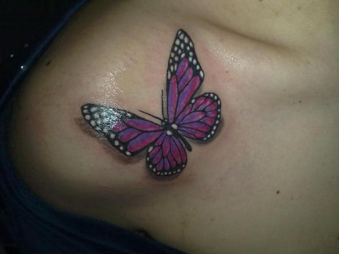 cosa fa farfalla tatuaggio a piedi