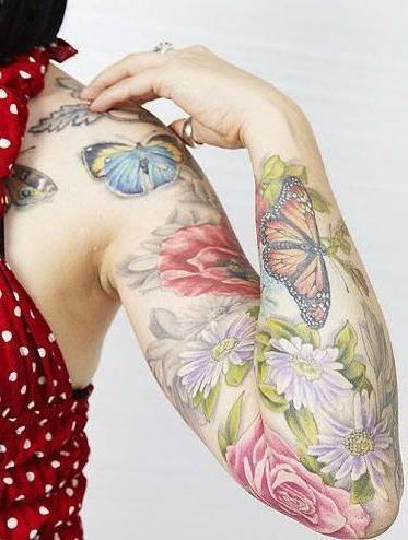 cosa significa il tatuaggio della farfalla sulla parte bassa della schiena