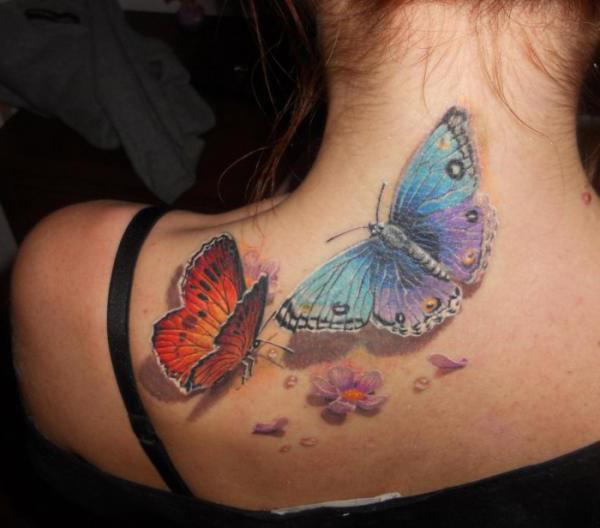 cosa significa il tatuaggio della farfalla sul collo