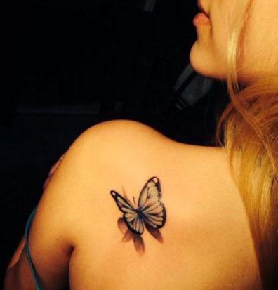 cosa significa il tatuaggio della farfalla sul braccio
