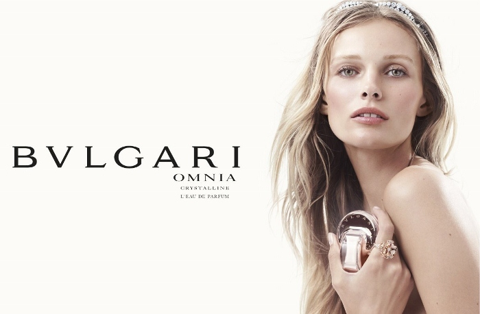 Бвлгари Омниа Кристални рекламни плакат