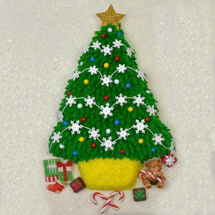 Kako napraviti tortu za božićno drvce