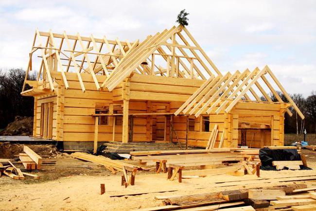 изграждане на къщи от калибриран дървен материал