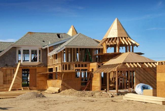 къща от калибриран дървен материал до ключ