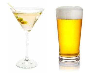 kalorii wódka i piwo