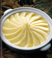 purè di patate in caloria di burro