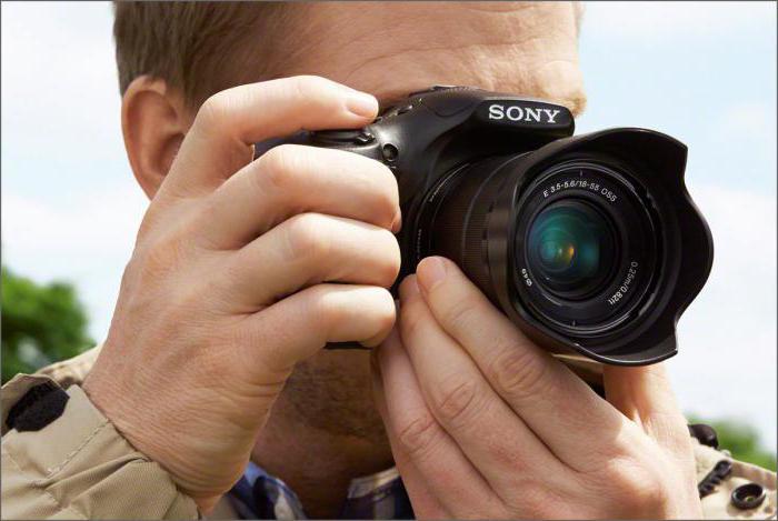 jak nastavit fotoaparát sony alpha 58