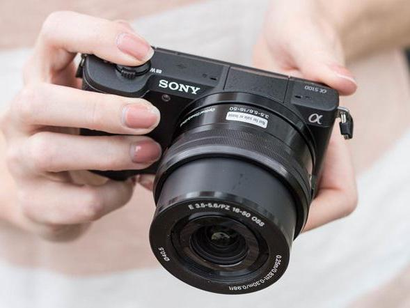 fotocamera sony alpha reflex