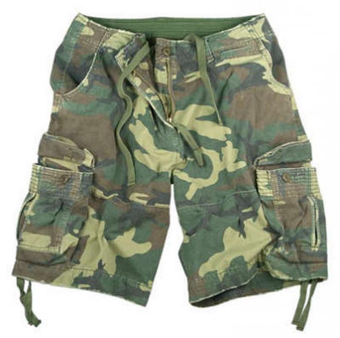 pantaloncini mimetici