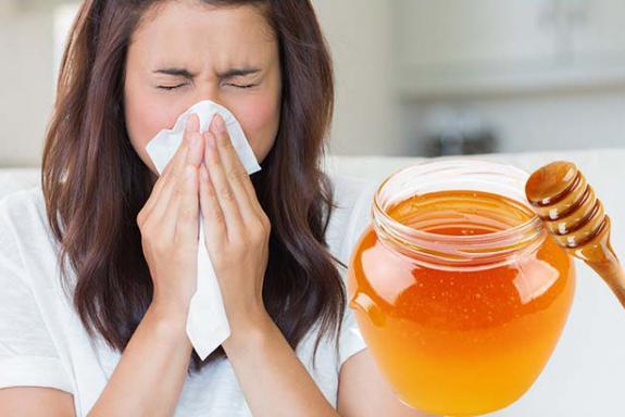 Med za prehlade noseča