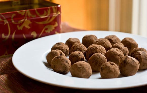бонбони трюфели у дома