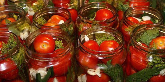 консервирани домати за зимата