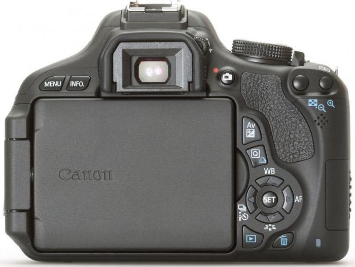 fotocamera reflex Canon 600d