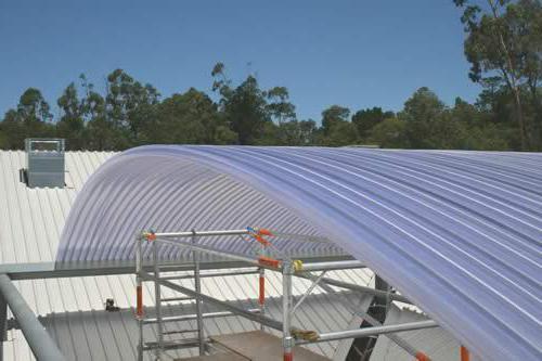 come realizzare una tettoia in policarbonato