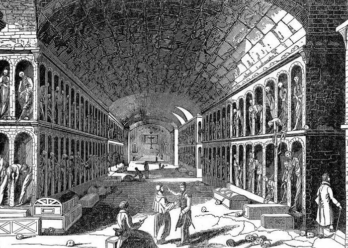 kapucinske katakombe palerma