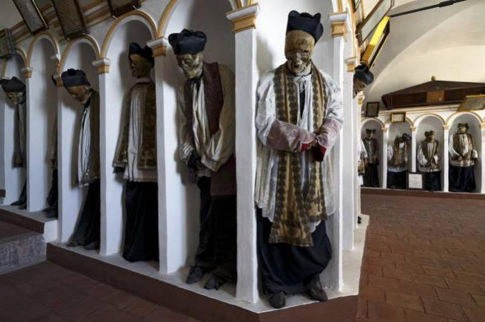 Kapucinski pogrebni katakombi Italija