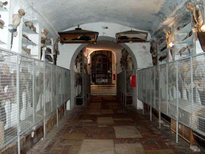 Kapucinski pogrebni katakombi v Palermu