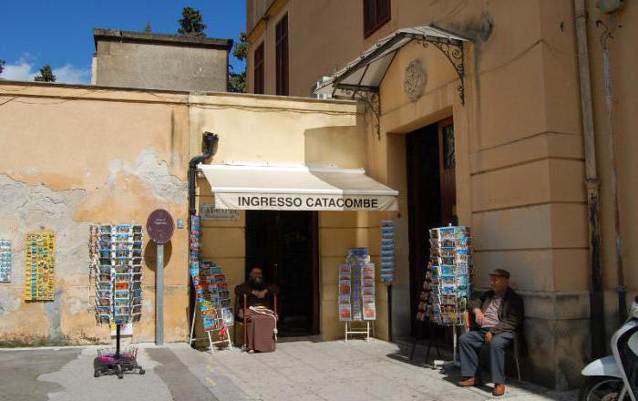 kapucinske katakombe sicily