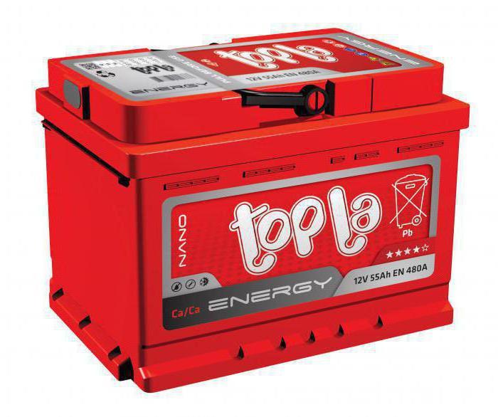 Baterie Topla
