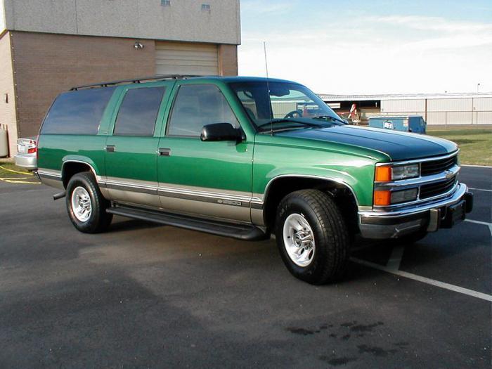 Podmiejska charakterystyka Chevroleta
