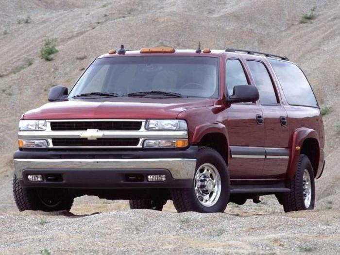 Podmiejska konsumpcja Chevroleta