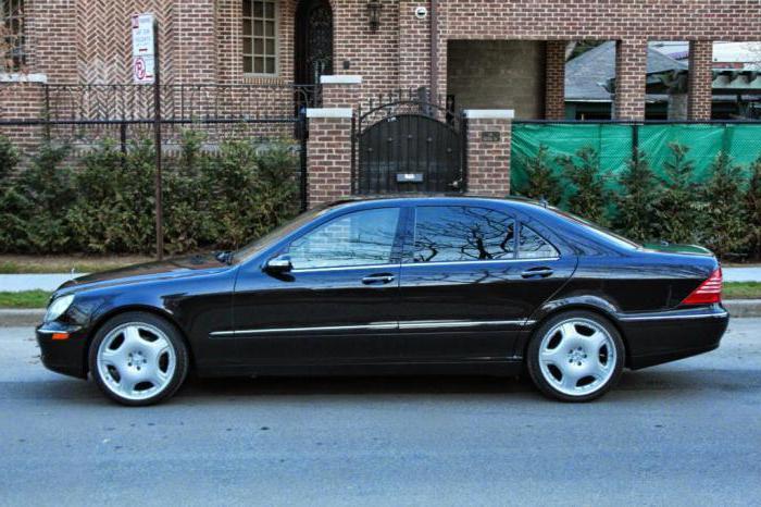"""""""Mercedes Classe S W220"""