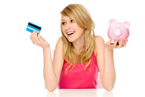 stavite štednu banku na karticu