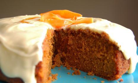 torta di carote di Julia Vysotskaya
