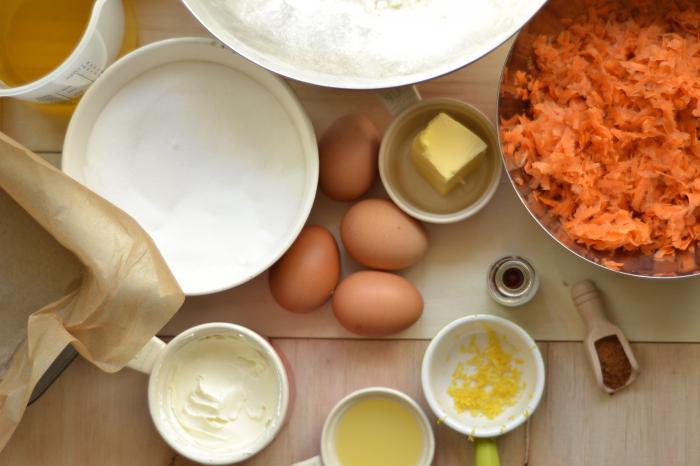 Torta di carote al mascarpone