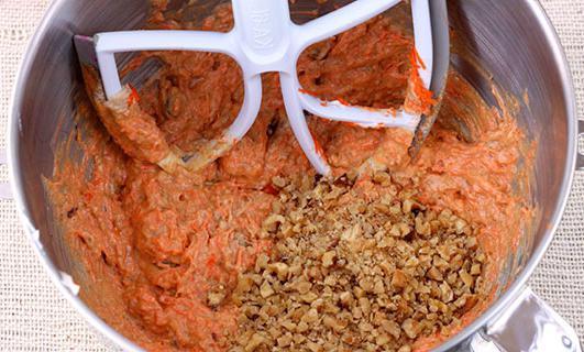 ricetta torta di carote con foto