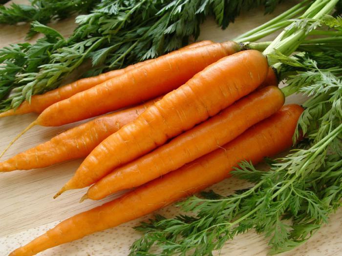 Le carote beneficiano e danno