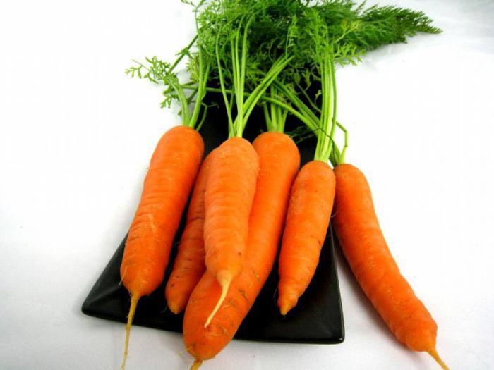 I benefici dei top di carota